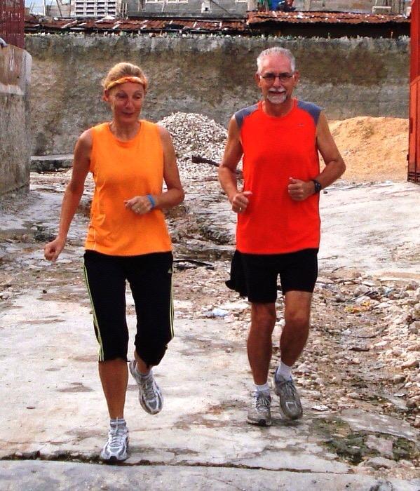 2011 Rene Marianne running