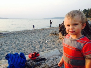 Titus at the beach WA